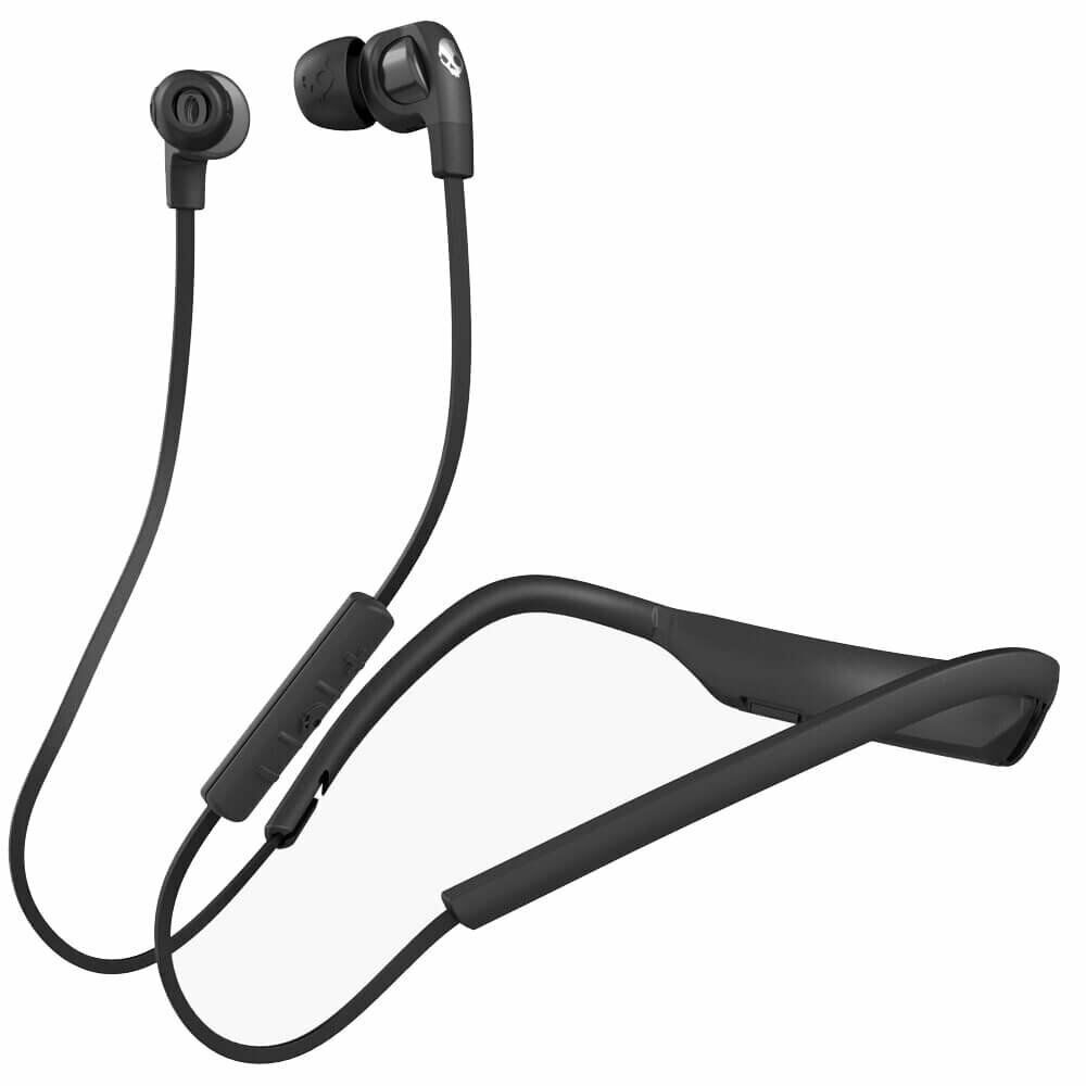 Skullcandy Smokin Buds 2 In-Ear Bluetooth Wireless Earbuds with Microphone Black