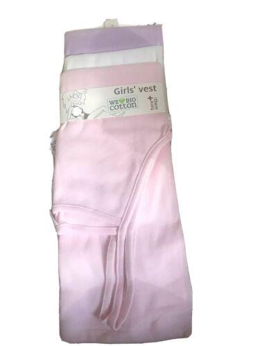 3 Mädchen Unterhemden Set Gr 182 C/&A