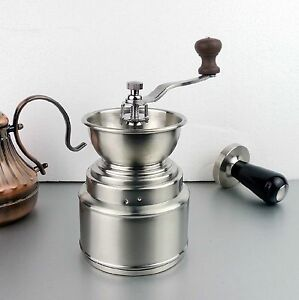 Cafe-Home-Barista-Coffee-Beans-Stainless-Steel-Ceramic-Burr-Travel-Grinder-Mill