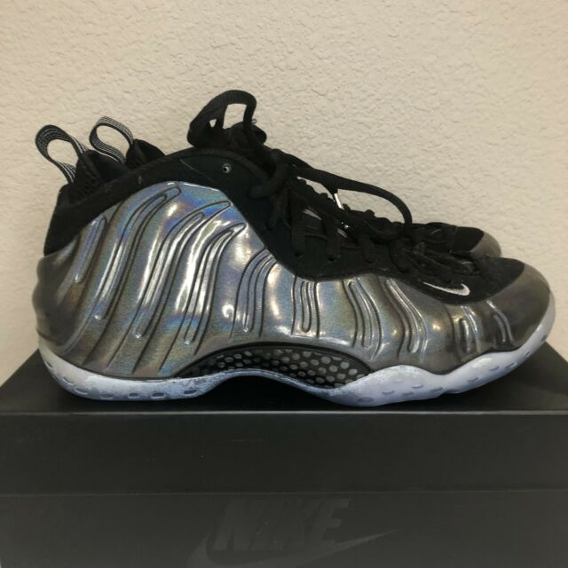 Nike Men s Air Foamposite One Mini Swoosh Black Metallic ...