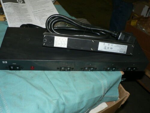 HEWLETT PACKARD 252663-D72 24A HIGH VOLTAGE US//JP PDU