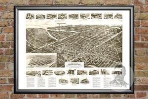 Old-Map-of-Lindenhurst-NY-from-1926-Vintage-New-York-Art-Historic-Decor