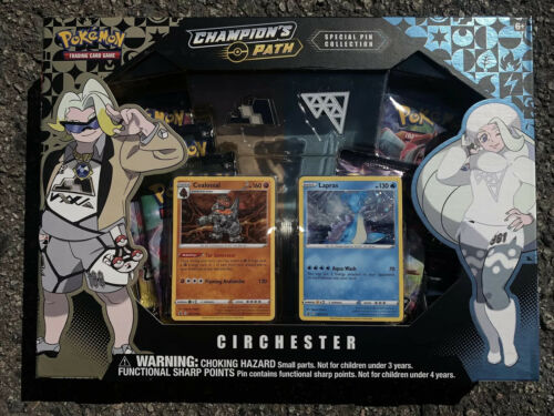 Pokemon Champions Path Circhester Special Pin Collection Box