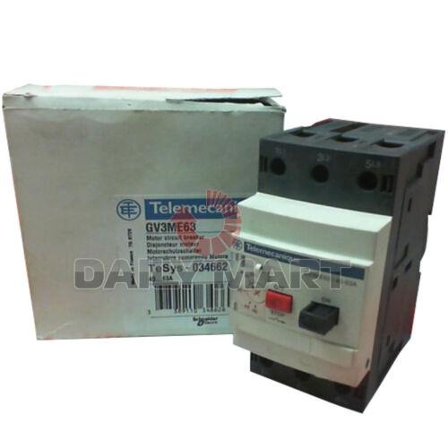 New Schneider GV3-ME63 Telemecanique Motor Circuit Breaker 40~63A GV3ME63 1PC