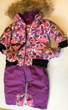 ceecaf5d4 Canada Weather Gear Baby Girls  1-piece Snowsuit Fuchsia 12 Months ...