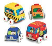 Melissa And Doug K`s Kids Pull-back Vehicle Set , New, Free Shipping on sale