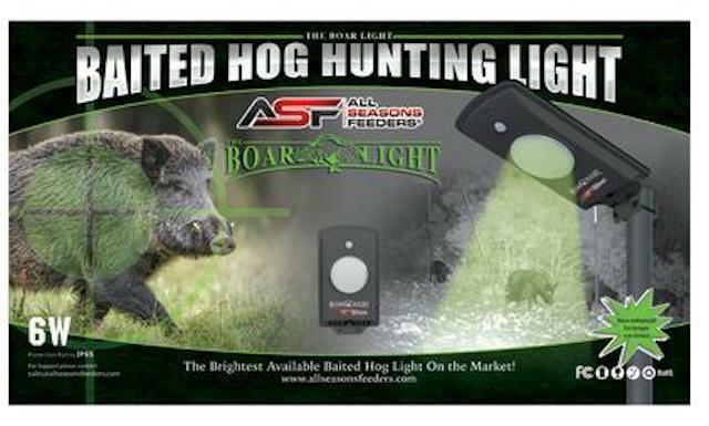 Todas las temporadas alimentadores jabalí luz movimiento activada LED verde - 767550644961