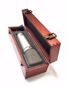 Wooden-Box-for-Neumann-U87-U67-TLM67-Microphones-kit