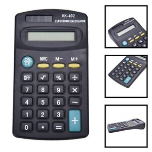 Electronic-Calculator-Mini-8-Digit-Battery-Solar-Powered-School-Office-Work-Exam
