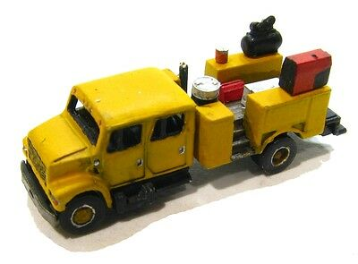 """Z Scale """"I"""" Class Equipment Service Truck Kit by Showcase Miniatures (4026)"""