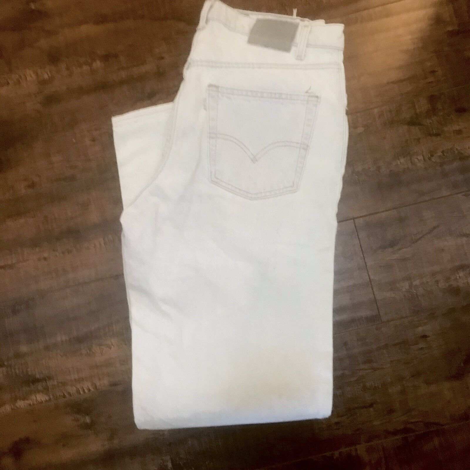 Vintage Levis Silvertab 36x32 Made In USA - image 1