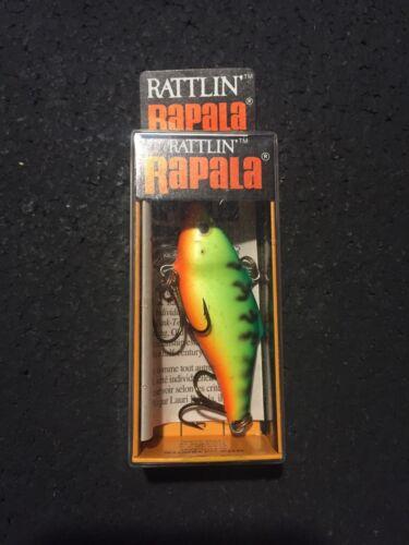 """RAPALA RATTLIN RNR-5 2/"""" 3//8 oz FT Firetiger Made in Ireland"""