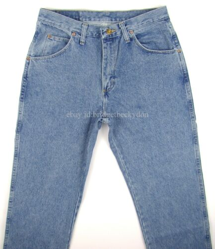 Wrangler Jeans Reguläre Passform Neu Herren Reißverschluss Fliege 30 31 32 33 34