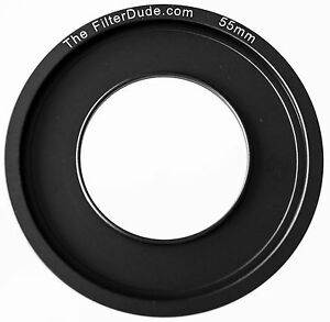 FilterDude 55mm LEE Compatible Wide Angle Adapter Ring for Filter Holder