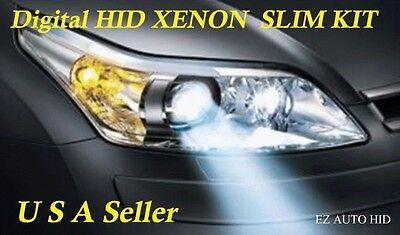BI-XENON Hi/Low DUAL BEAM HID SLIM Kit H4 H13 9004 9007 9008 9003 HB1 HB2 HB5