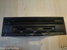 VW TOUAREG INFOTAIMENT MAIN UNIT CD SD SIM NAVIGATION RNS 850 7P6035670A