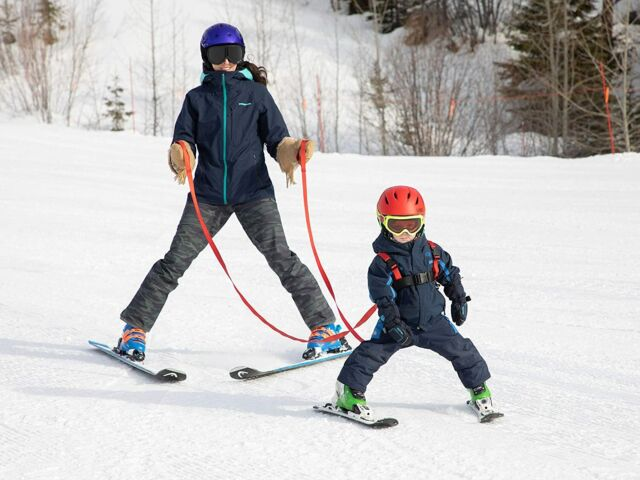 Lucky Bums Ski Trainer for Ages 2 to 8 Color Red Style #1010 B4 for sale online