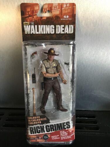 THE Walking Dead Rick Grimes ACTION FIGURE SERIE 7 MCFARLANE TOYS esclusivo