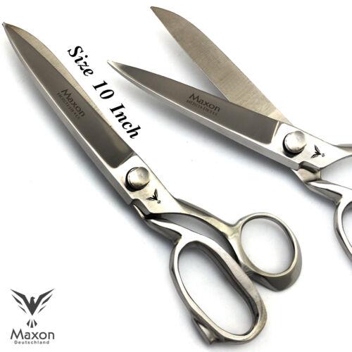 MAXON Schneiderschere Stoffschere Textilschere Haushaltsschere Scheren 10 Zoll