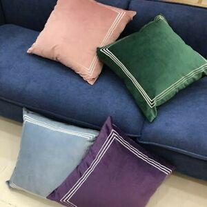 Details Zu Kissenbezug Kissenbezug Samt Retro Vintage Luxus Bett Sofa Wohndeko