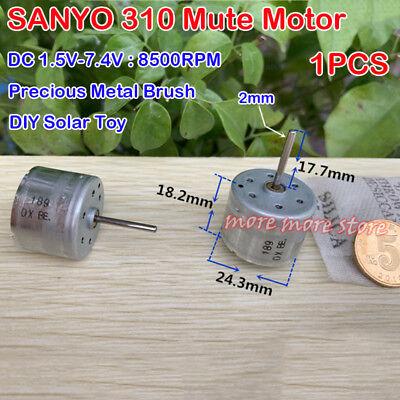 Mabuchi N10 Micro Motor DC1.5V 3V 4.5V High Speed Precious Metal Brush Motor DIY