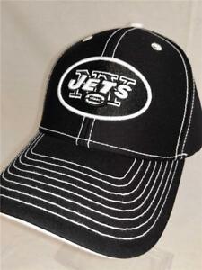 514ba657113 New York Jets Adult Mens Unisex Adult Size OSFA Black Adjustable NFL ...
