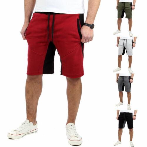 Reslad Kurze Hose Herren Fitness Jogginghose Kurz Shorts Sport-Hose RS-5068 NEU