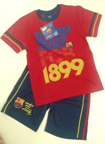 Barcelona Football Kit Childrens Training Kit Shirt /& Shorts All Sizes 2 Colours