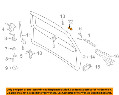 FORD OEM Liftgate Tailgate-Lift Rod Support Stud AL1Z78404E48A