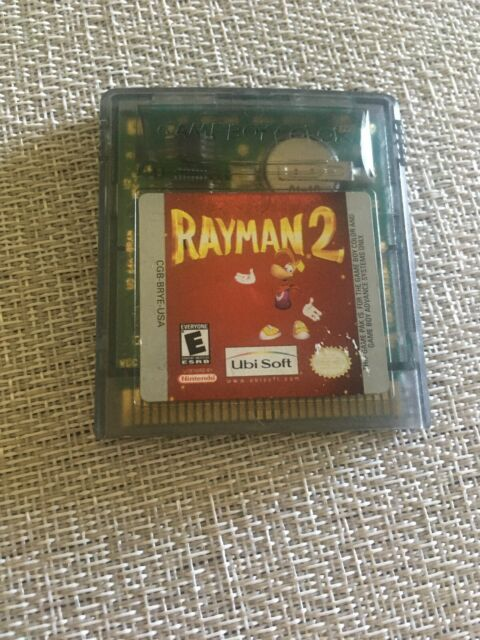 Rayman 2 Game Boy Color Nintendo Gameboy Video Game Tested & Working
