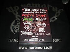 TRUE THRASH FEST 2013 2-CD Set Import JAPAN feat. EXCITER VIOLATOR NEW Sealed