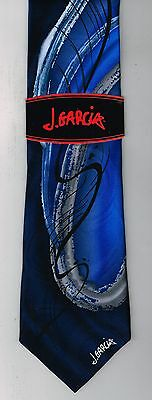 """NEW Jerry Garcia """"Chinese Dragon"""" NWT Tie Watercolor Collection Blue"""