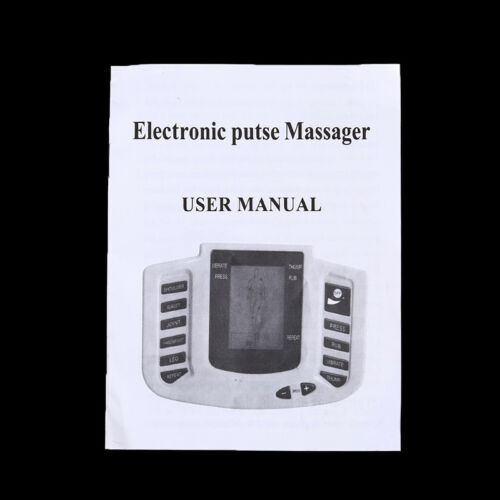 Electrical Muscle Relax Tens Acupuncture Stimulator Massager Machine YE