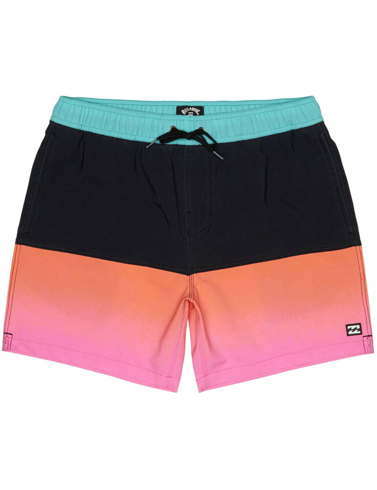 Billabong Fifty 50 Layback élastique Shorts En Rose Fluo