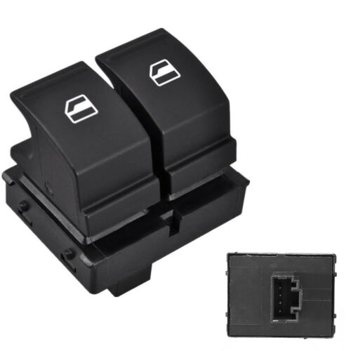 Electric Car Window Double Switch Buttons For Skoda Fabia 06-14, Roomster 06-15