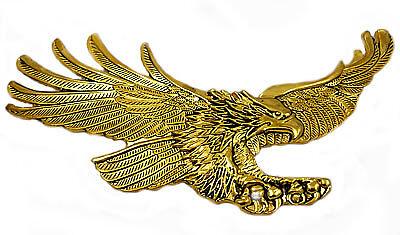 Screaming Eagle emblem, Antique gold GL1200 -  Right