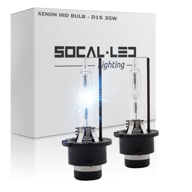 SOCAL-LED 2x D2S HID Headlight Bulb 35W OEM Factory Direct