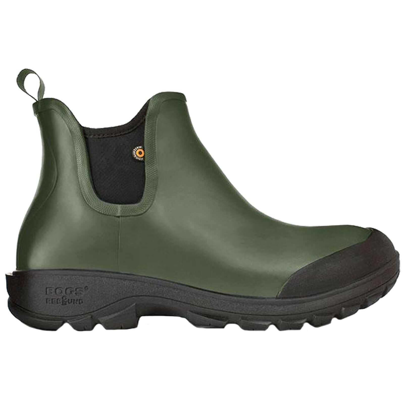 MENS BOGS SAUVIE SLIP ON DARK Grün LIGHTWEIGHT WELLIES Stiefel 72208