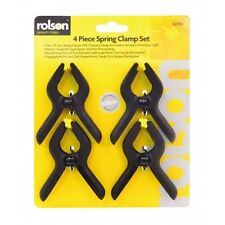 Rolson Spring Clamp Set 90mm Set Of 4  - 60350