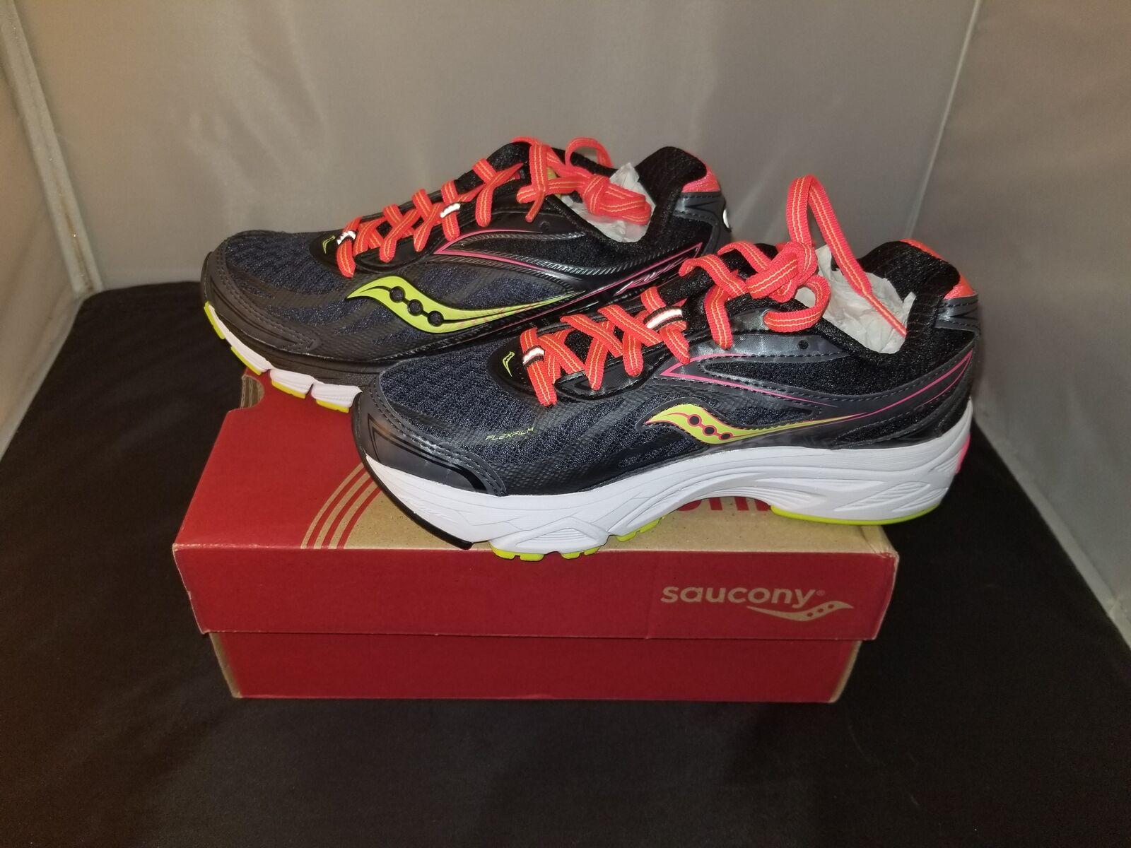 NIB Saucony Guide 8 Running Schuhes Dark Gray Farbe Größe 5 US/3 UK/35.5 EUR NEU
