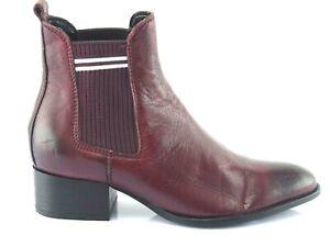 Détails sur Tommy Hilfiger Chaussette Chelsea Chaussures Bottines pour Femmes Bottes Leder