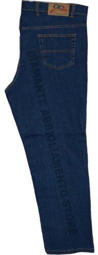 pantalone jeans uomo over diritto made in italy taglie dalla 55 alla 71 a d10021
