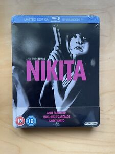 Nikita Limited Edition Blu-Ray Steelbook French Language English Subs - Sealed