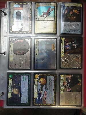 Quiddich Cup Set QC Foil & Reg. Complete Harry Potter Trading Cards TCG CCG