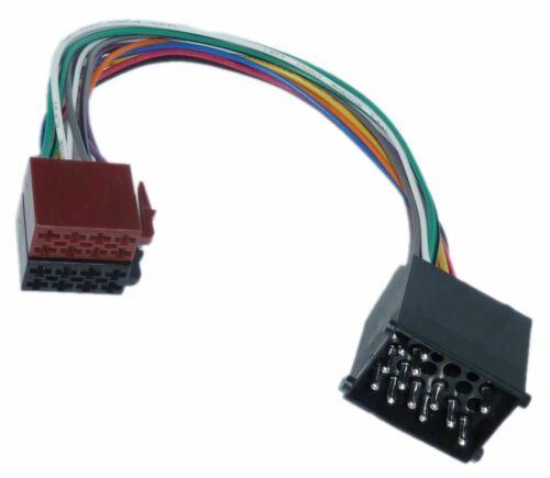 Para bmw e30 e31 e32 e34 e36 e39 e46 e53 DIN ISO Auto Radio Adaptador Cable Enchufe