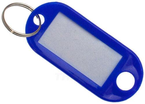 1.000 Stück Schlüsselschilder Blau Schlüsselanhänger zum Beschriften