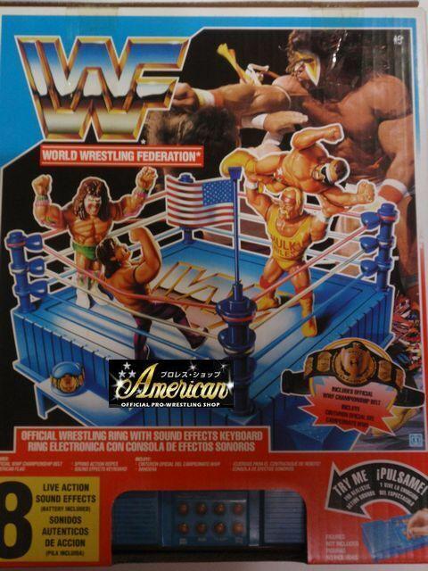 Hasbro WWF cifras sólo'91 edición oficial versión estadounidense de anillo de sonido  con EI o = 26
