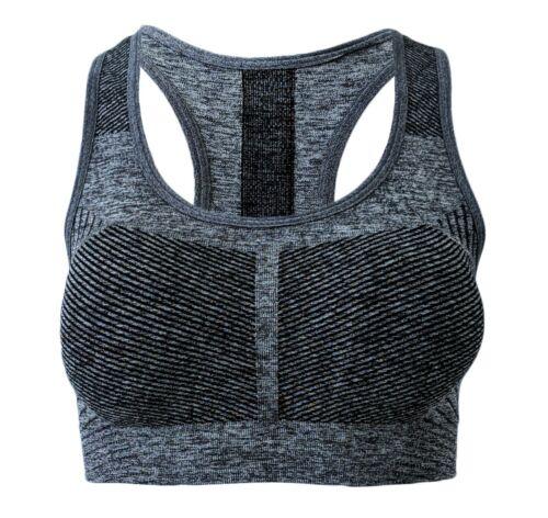 Fitness BH 5er Set Trainings Bustier TOP Vollschalen Gr S-M L-XL Sports Bra