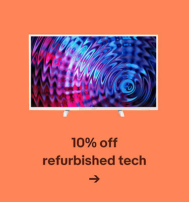 10% off refurbished tech