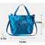 Geometric-Luminous-Women-Handbag-Holographic-Reflective-Matte-handbag-Holiday thumbnail 26